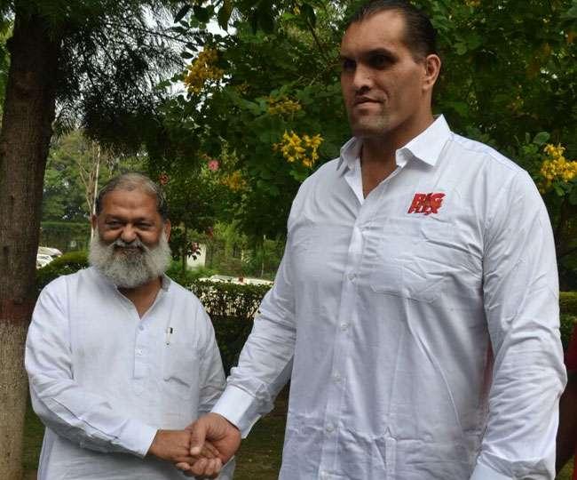 The Great Khali WWE wrestling Action in Haryana