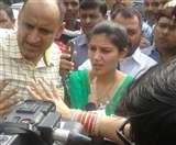 stay on the arrest of singer Sapna Chowdhury