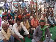 protest of farmers