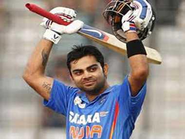 Kohli slips to No. 3 in ODI batsmen's rankings