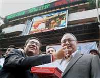 BSE listed firms' market value hits Rs 100-trillion mark