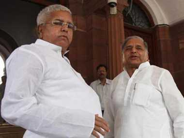 Marriage may forge new Mulayam and Lalu alliance