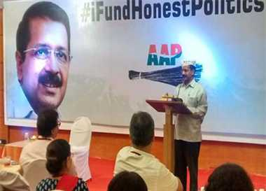 91 Lakhs Collected From Kejriwal's Fund-Raiser Dinner in Mumbai