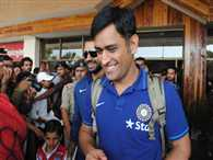 Dhoni could leave full Australian tour