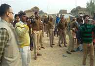 Firing And Hot Talks In First Phase Of Panchayat Polls In UP
