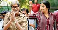 Big B and Vidya Balan shoot for 'Te3n' in Kolkata