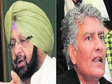 Amarinder insist on maintaining Sunil Jakhar to leader of Opposition