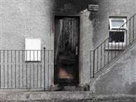 arson attack on indian family in northern ireland