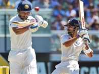 Team India wicket fall off dampens the light of Kohli and Rahane's tons