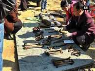 8 human skulls found from school in Manipur