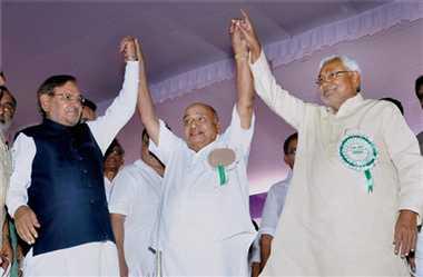 SJD and JDU merged in Kerala
