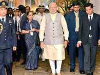 PM Modi arrives in Singapore to attend Lee's funeral
