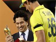 Sachin Tendulkar reaches MCG and attracts eyes