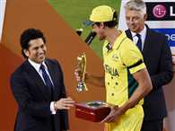 Starc wins Man of the tournament Award in World Cup 2015