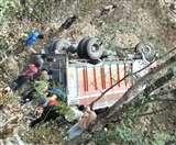 चंपावत में ट्रक और कार की भिड़ंत में पति-पत्नी की मौत, पांच घायल