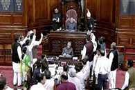 uproar in rajya sabha over minorities issue