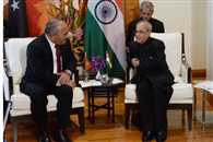 Sea lanes should be free of tension and rivalry says President Mukherjee