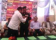Colonel Kothiyal awarded the Tiladhi martyr honor