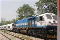 Trail Of Semi High Speed Telgo Train Between Bareilly And Moradabad