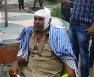 Accused of rigging the vote count, the supporters pelted stones