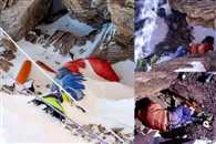 The Dead bodies show the way to Mountaineers at Mount Everest
