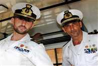 Italy's naval Girone arrived home from India