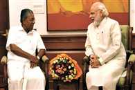 pm modi talked with pinarayi vijayan over bjp and left party clash in assam