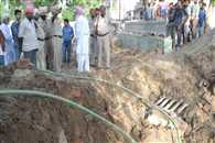 worker buried to death after soil moving in amritsar