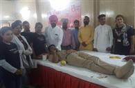 रक्तदान कर जिंदगी भी बचाती है पुलिस