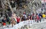 वैष्णो देवी भवन मार्ग पर लगी आग बुझी, यात्रा शुरू