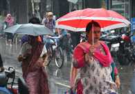 the rain somewhere Relief and Scourge in Uttar Pradesh