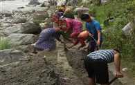 Canal built by women at Chamoli