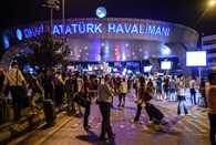 Explosions and gunfire at international terminal of Ataturk Airport