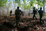 Accused of killing six people reached in jungle