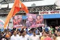 Shiv Sena puts up posters mocking Amit Shah BJP warns of fitting reply