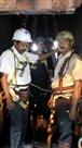 डीजीएमएस व सेल अधिकारियों ने किया चासनाला डीप माइंस का निरीक्षण