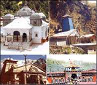 Chardham travel routes weather disrupted again