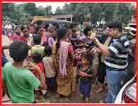 स्वयंसेवी संगठनों ने की बाढ़ पीड़ितों की मदद