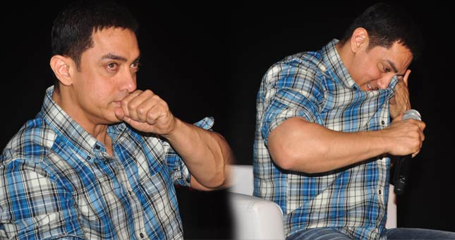 Aamir Khan gets emotional in Satyamev Jayate's press conference