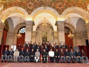 President bestows controversy-marred Arjuna awards