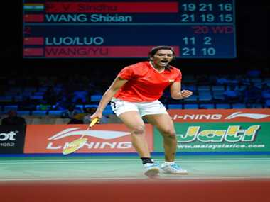 PV Sindhu in the semifinals of World Badminton Championships, bronze medal for sure