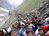 Baba devotees reached the entrance to the lowest in five years