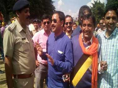 Police Detained BJP Members Come In Fai, Released