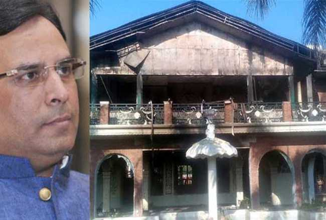 Conspired to blow up Kothi of captain Abhimanyu before jat  violence start