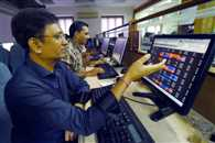 indian stock marked closed up sensex jump one hundred and twenty points