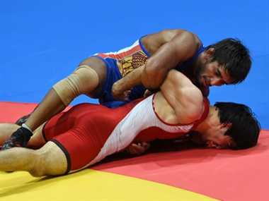 Bajrang Kumar wins silver while Narsingh win bronze in wrestling