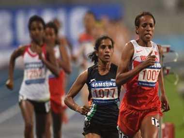 op jaisha wins bronze medal in 1500m