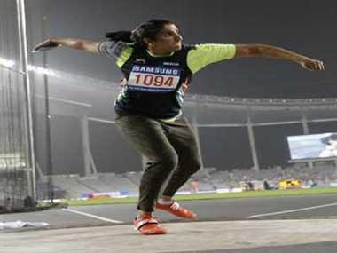 seema punia wins gold medal