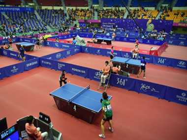 Indian TT players had a mixed day