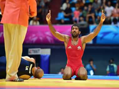 Yogeshwar thanks Sushil Kumar and coaches for gold medal
